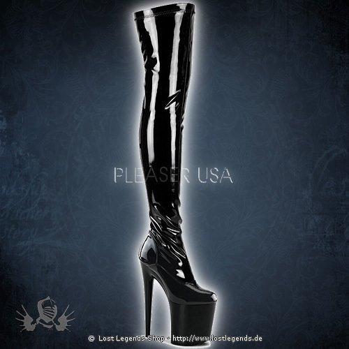Pleaser FLAMINGO-3000 Black