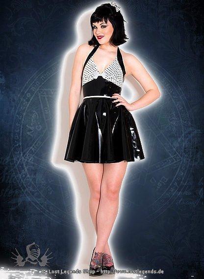 Polka Polly Jive Dress Latex