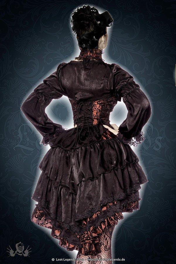 Premium-Vampir-Kostüm braun/schwarz