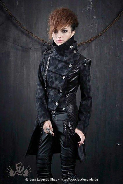 Punk Long Tailcoat Visual Kei Mantel