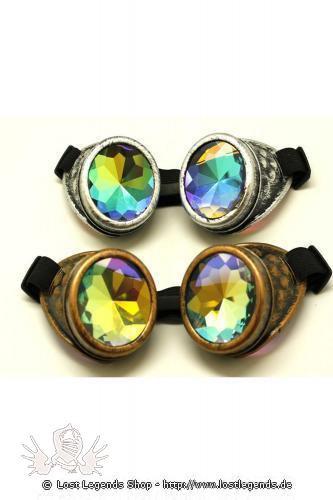 Rainbow Goggles Steampunk