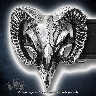 Rams Skull Gürtelschnalle
