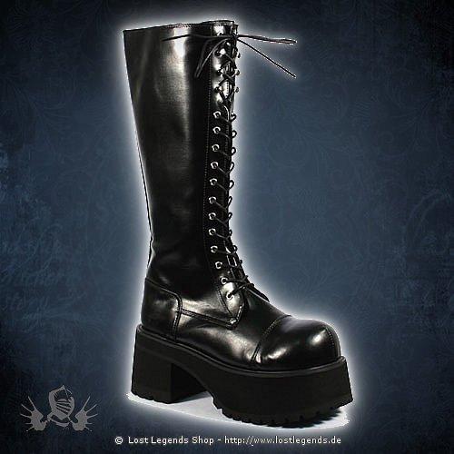 Ranger-302 Lack Demonia Gothic Stiefel