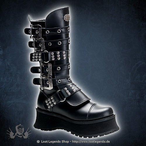 Ravage-302 Demonia Gothic Stiefel