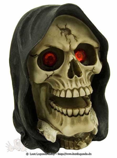 Reaper With Red Eyes