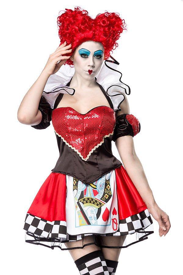 Karnevalskostüm Herzkönigin
