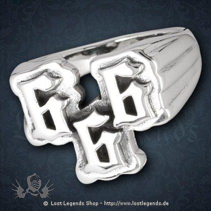 Ring 666 Silber