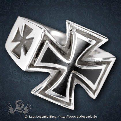 Ring Eisernes Kreuz Silber