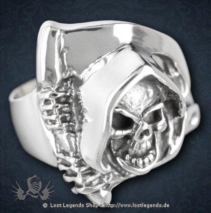 Ring Grim Reaper Silber