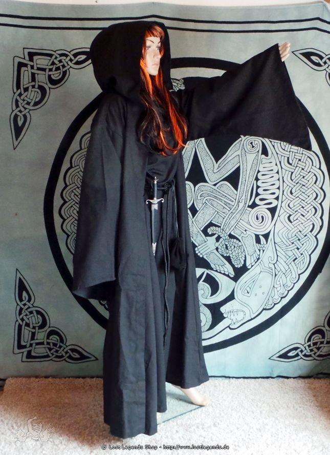 Ritualrobe schwarz