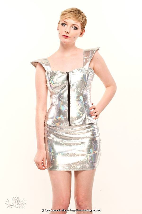 Robot Print Space Cyber Top