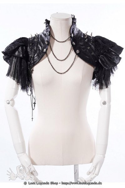 Rockstar Shrug Visual Kei, Black