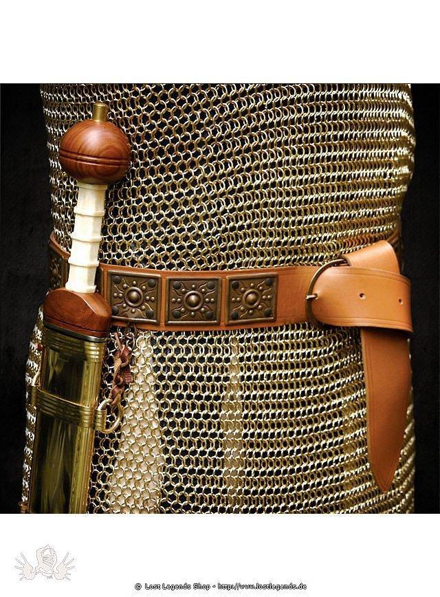 Roman Belt brown
