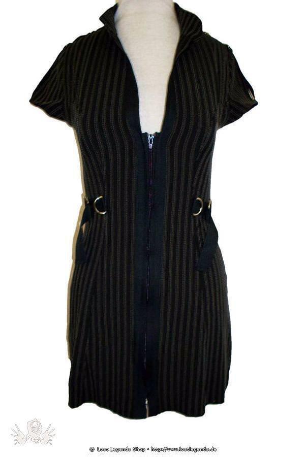 Ross Stripe Military Kleid