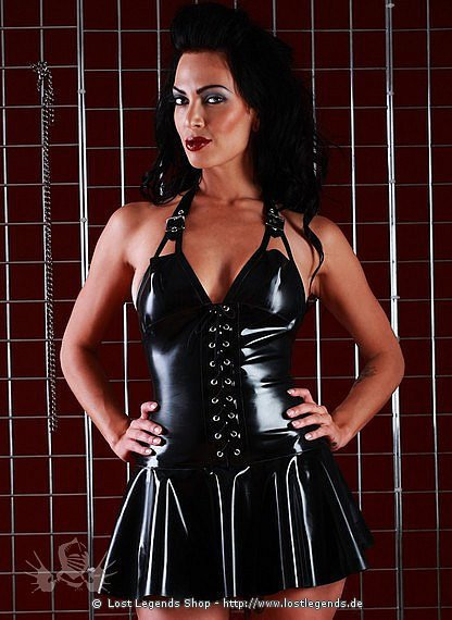 Rubber Bondarella Dress Latex Kleid