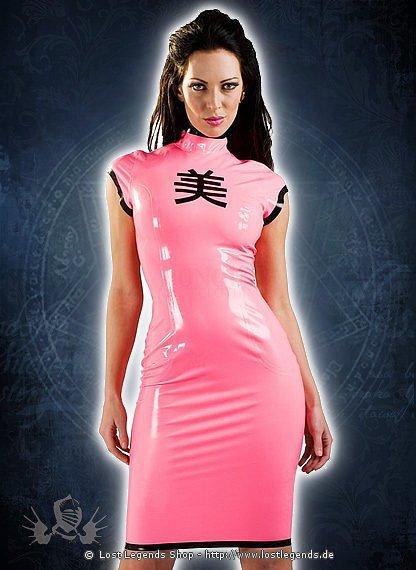 Rubber Candy Geisha Dress Latex Kleid