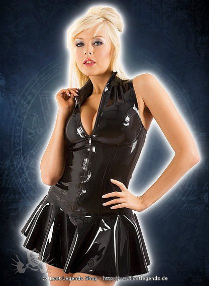 Rubber Glamazon Dress Latex Kleid