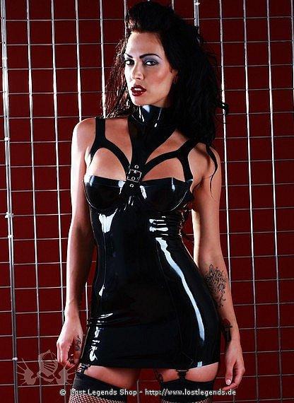 Rubber Liberty Suspender Dress Latex Kleid