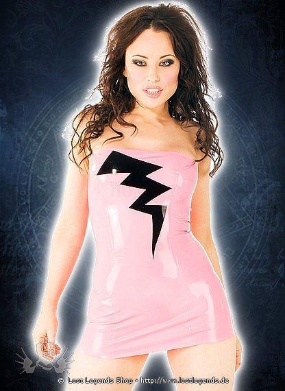 Rubber Lightning Dress Latex Kleid
