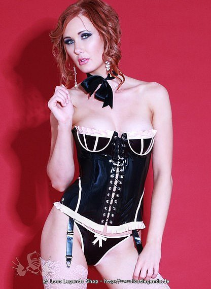 Rubber Vintage Corset Latex