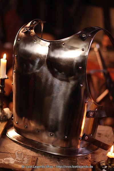 Rückenpanzer Warrior, Metal