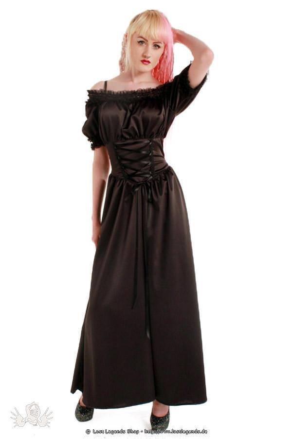 Sadie Satin Gypsy Gothic Kleid