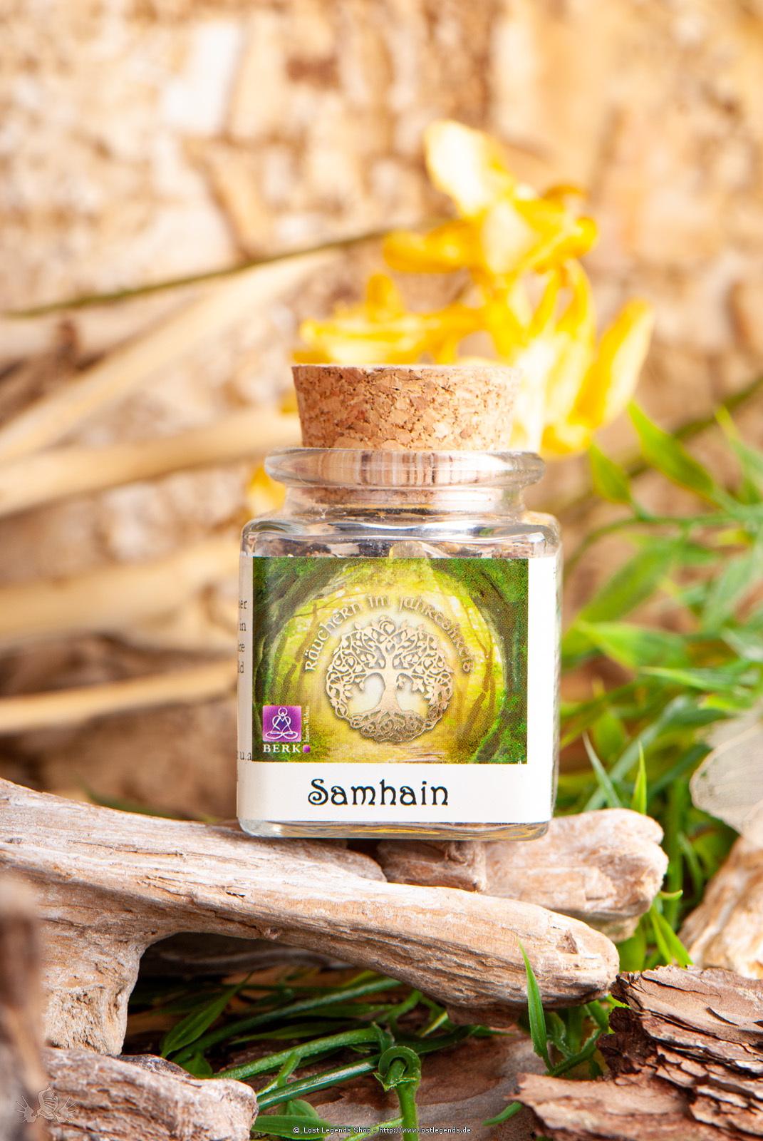 Samhain Räuchermischung, 50 ml