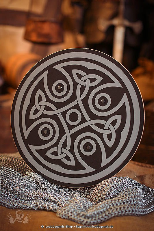 Schild Aragon rund