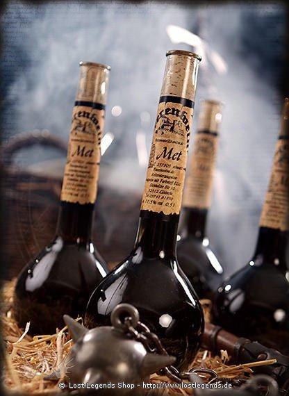 Schwarzer Met 0,5l Elixierflasche