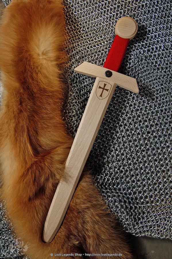 Schwert Tempelritter 50 cm, Holz
