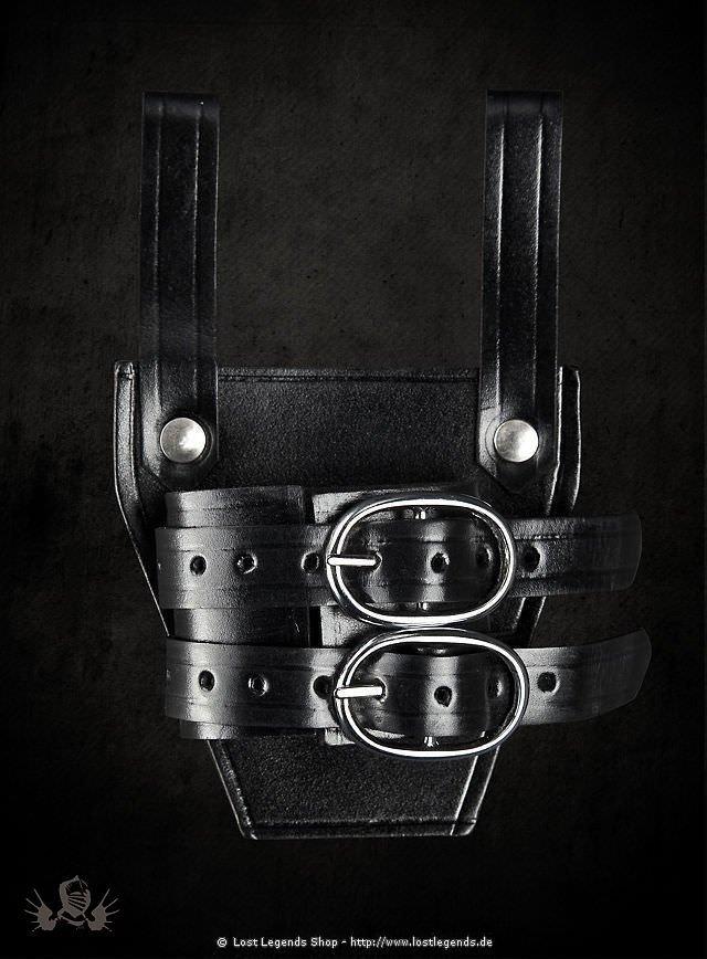 Schwerthalter aus Leder