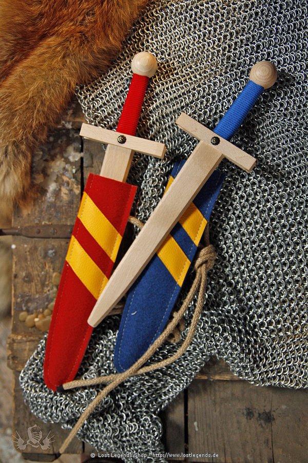 Schwertset Lancelot mit Scheide, 48 cm
