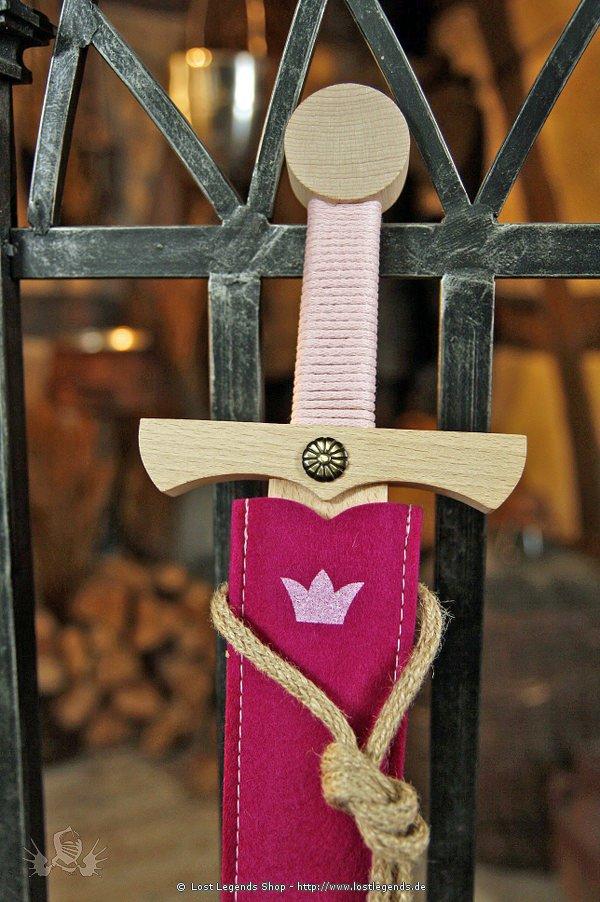 Schwertset Princess mit Scheide, 66 cm
