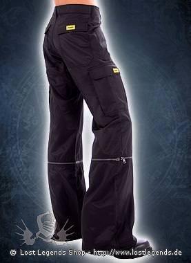 Sektor 1 Oomph! Zipp-Off Pants D.S. Black