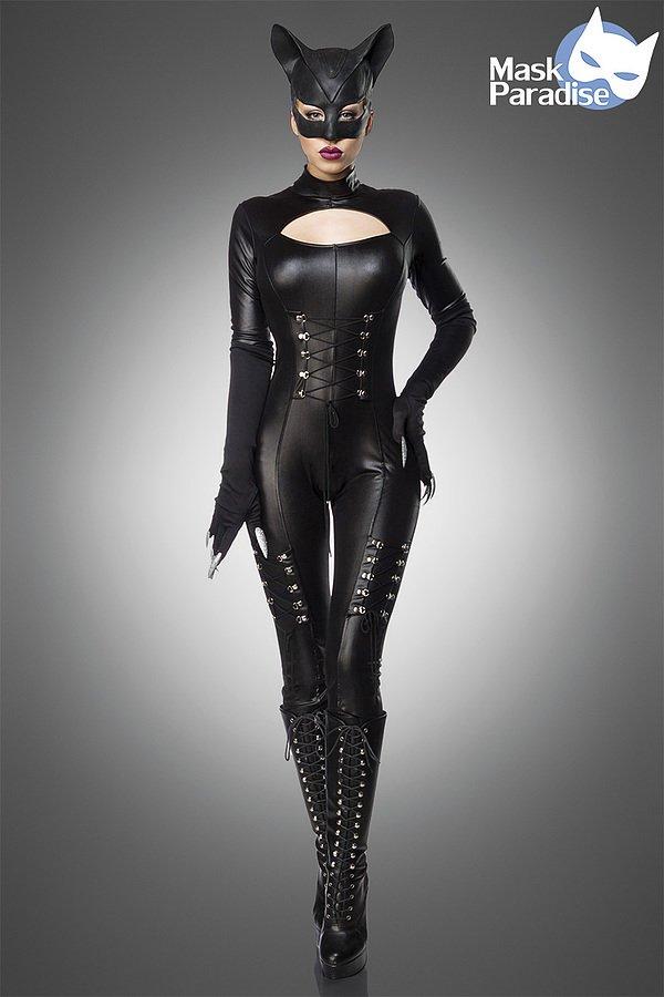Sexy Catwoman schwarz