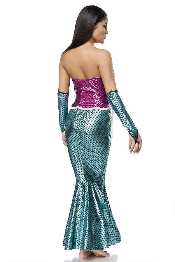 sexy Mermaid karnevalskostüm
