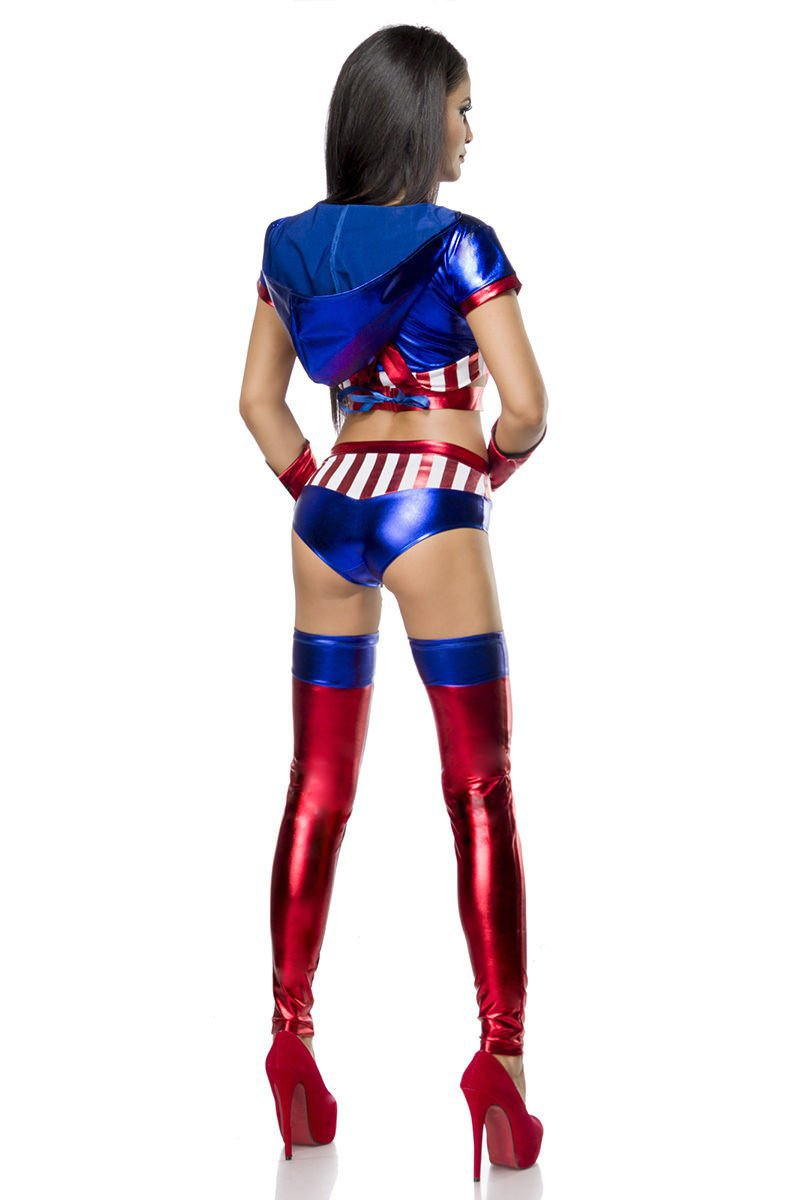 sexy Miss America rot/blau/weiß