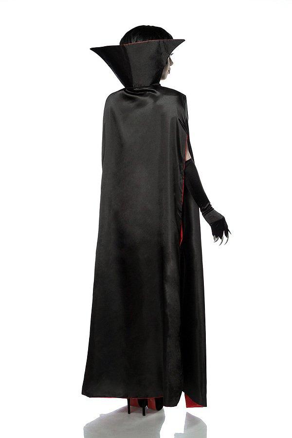 Sexy Vampire Komplettset schwarz/rot