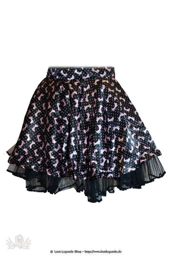 Short Pink Bow Pinup Rock