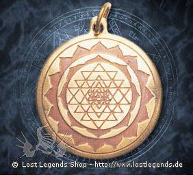 Shri Yantra Star Charms