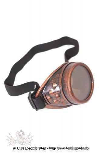single lens Goggles Steampunk