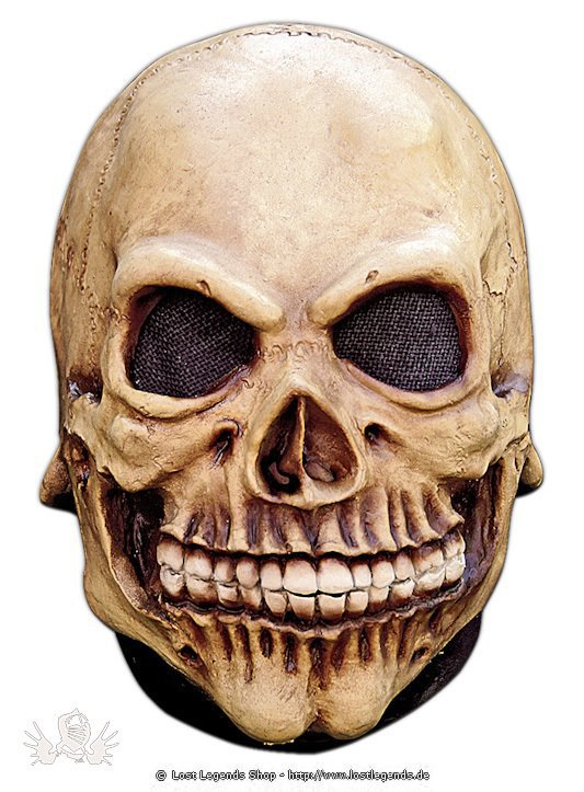 Skelett Kindermaske Latex Maske