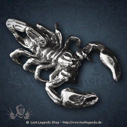Skorpion Anhänger Silber