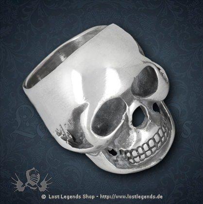 Skull Ring Hartzinn