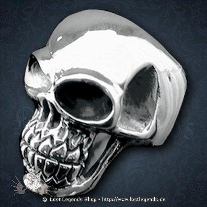 Skull-Ring Silber