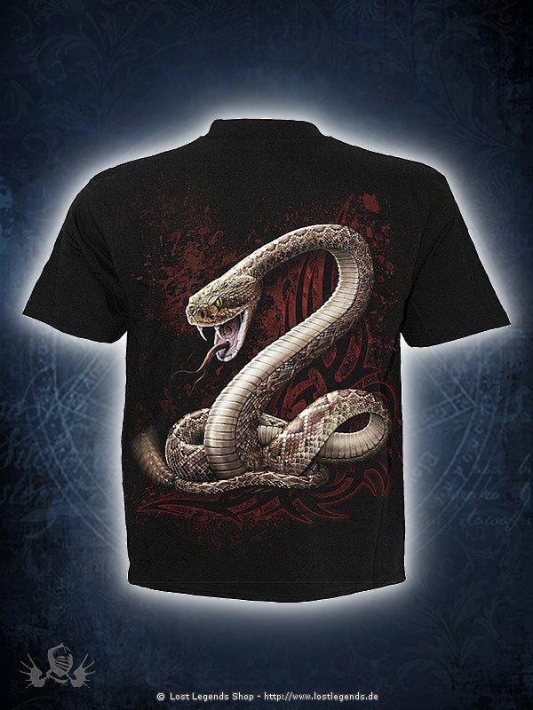 Snake Eye Stud T-Shirt schwarz SPIRAL