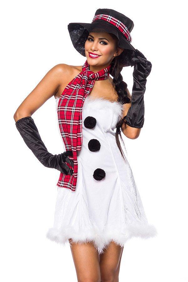 Snow Girl weiß/schwarz