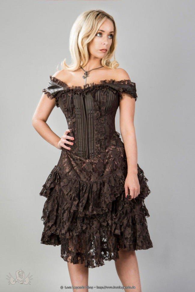 Sophia Korsett-Kleid mit Spitze