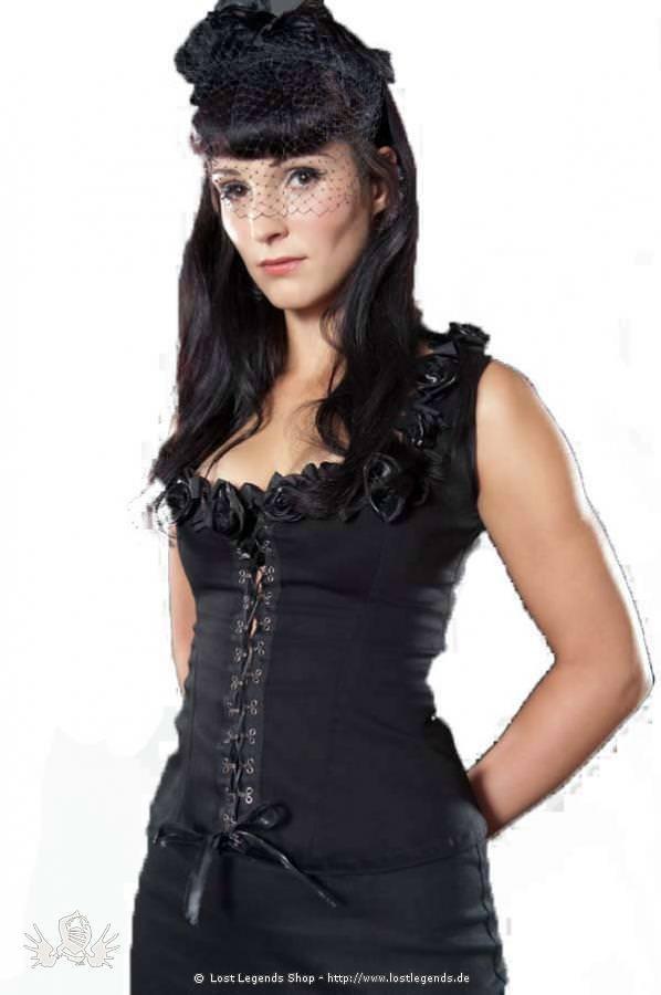 Sophia Rose Steampunk Top
