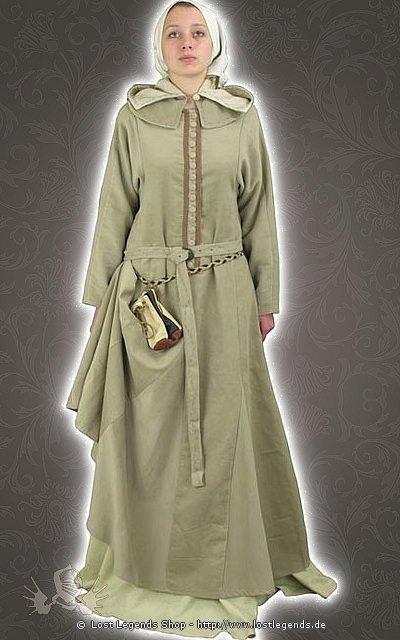 Spätmittelalterliches Kleid